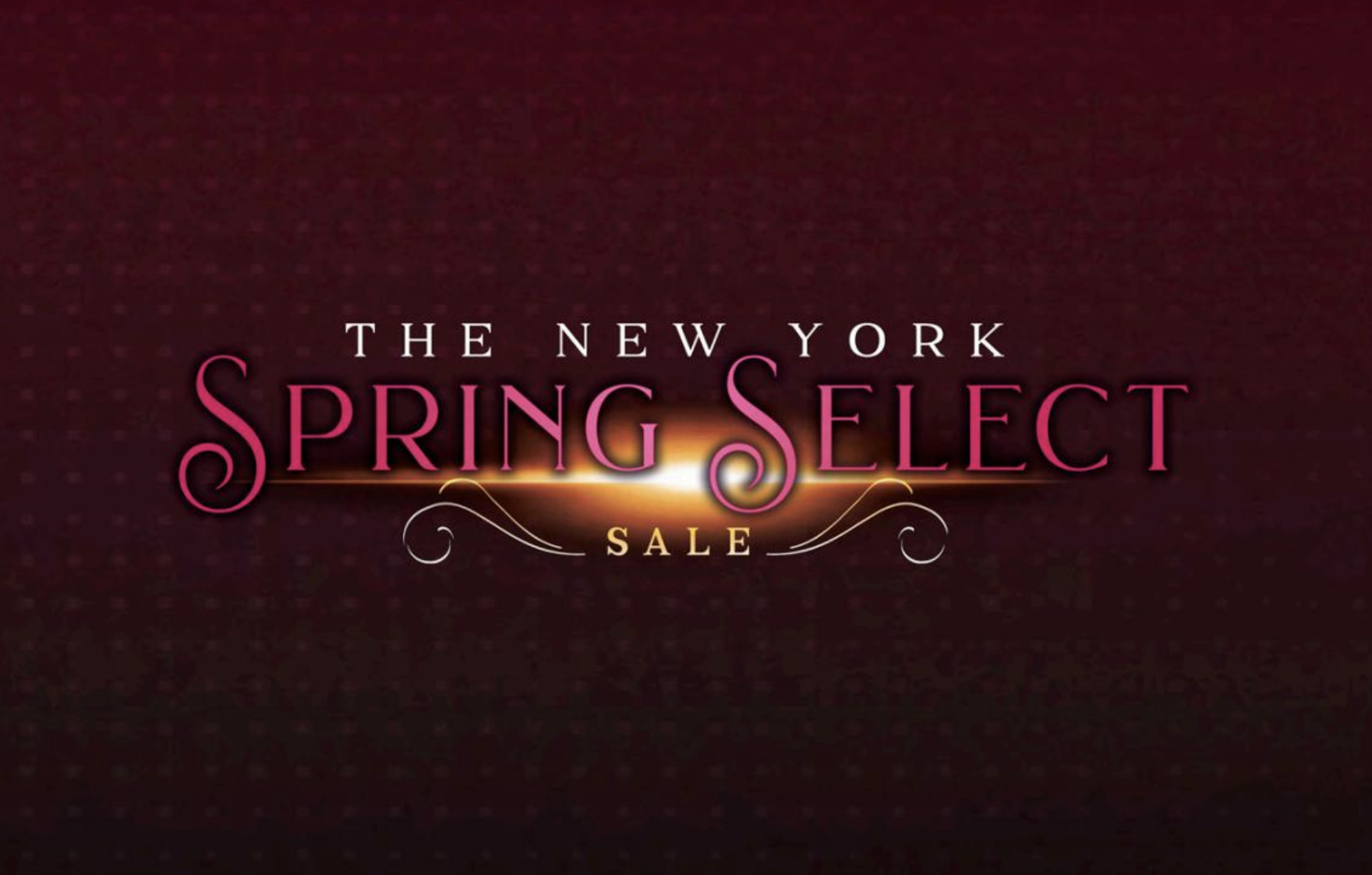 New York Spring Select Sale